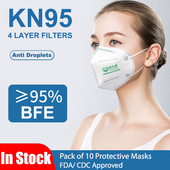 KN95 Style 4 PLY Face Mask FDA/CDC Approved