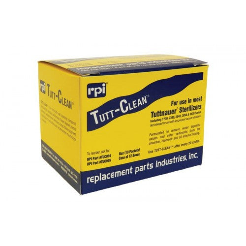 Tutt-Clean TUC094 Sterilizer Cleaner (Pack of 10) #OEM CB0010