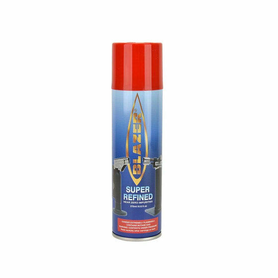 Blazer Butane Refill for Micro Torches Lighter ( 9.12oz ) Super Refined 189-3000