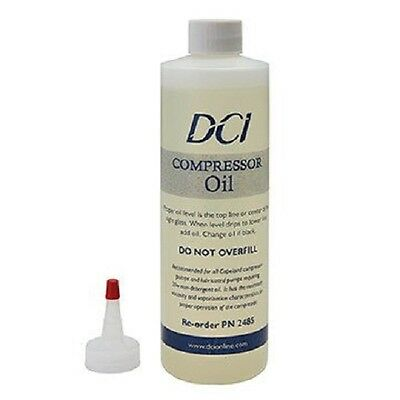 DCI Lubricated Compressor Oil, 16 oz. Bottle #2485