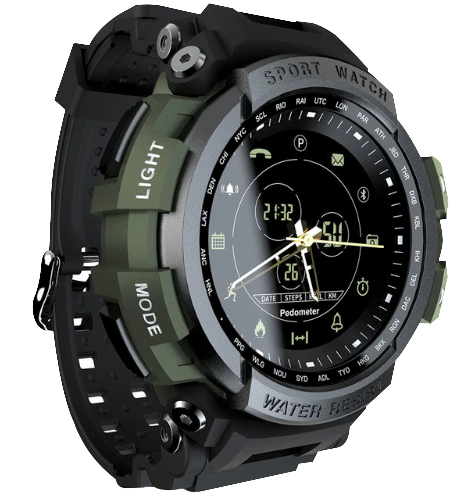Tactical Smart Watch V7 Army Green