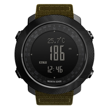 Load image into Gallery viewer, Tactical Watch Apache Green Berret