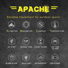 Load image into Gallery viewer, Tactical Watch Apache Black Ops