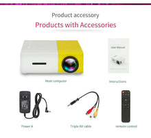 Load image into Gallery viewer, Mini Led Projector Pocket Size - Yellow