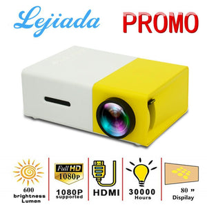 Mini Led Projector Pocket Size - Blue
