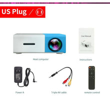 Load image into Gallery viewer, Mini Led Projector Pocket Size - Blue