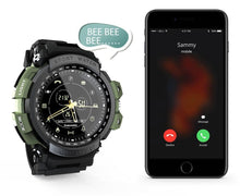 Load image into Gallery viewer, Tactical Smart Watch V7 T-shock Army Green