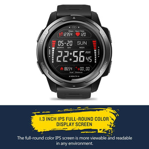 Tactical Smart Watch V5 Black