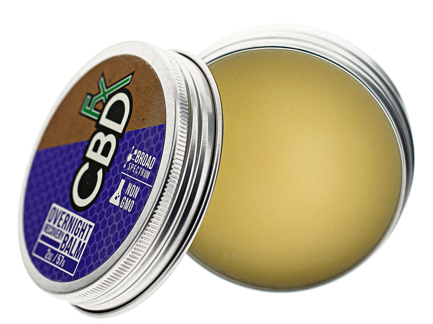 CBDfx Overnight Recovery CBD Balm Description Three