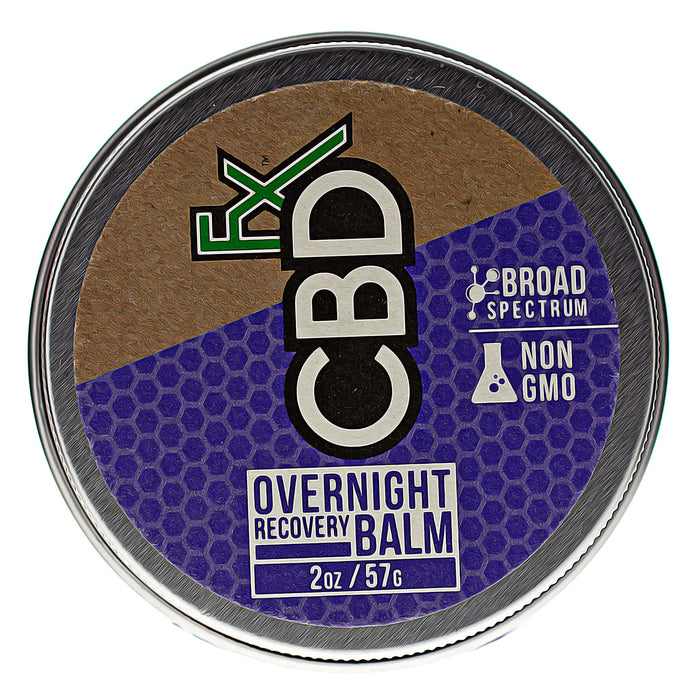 CBDfx CBD Balm Overnight Recovery Description Two