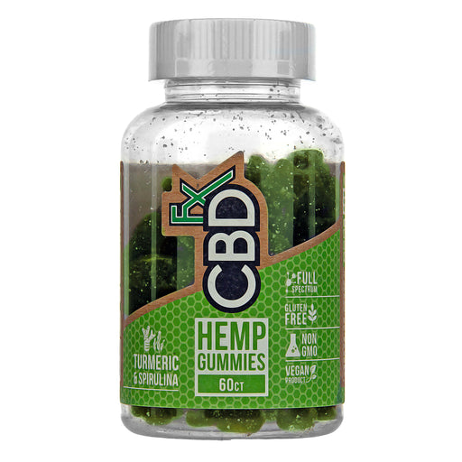 CBD Gummies with Turmeric and Spirulina by CBDfx