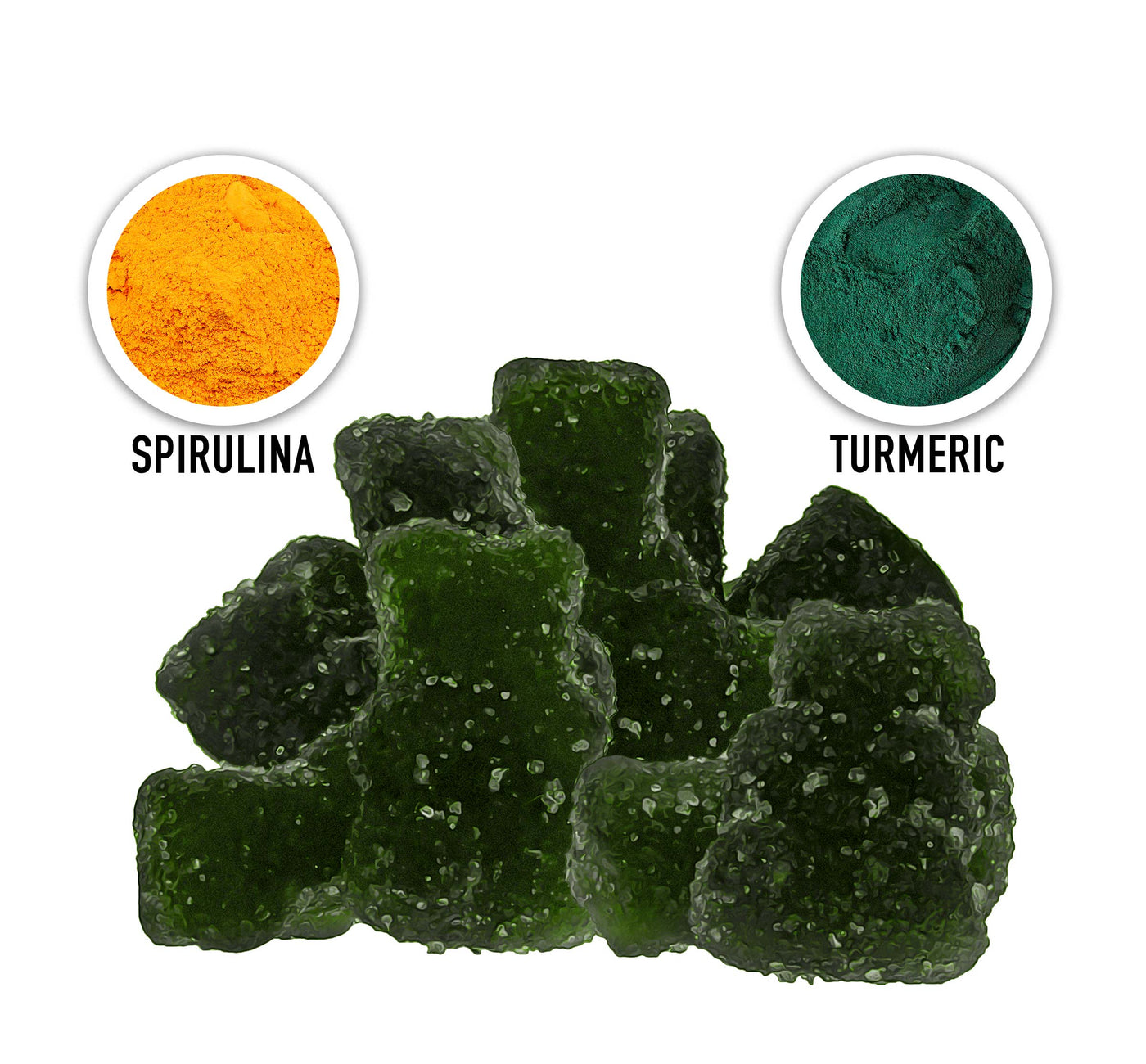 CBD Gummy with Antioxidants Description Two