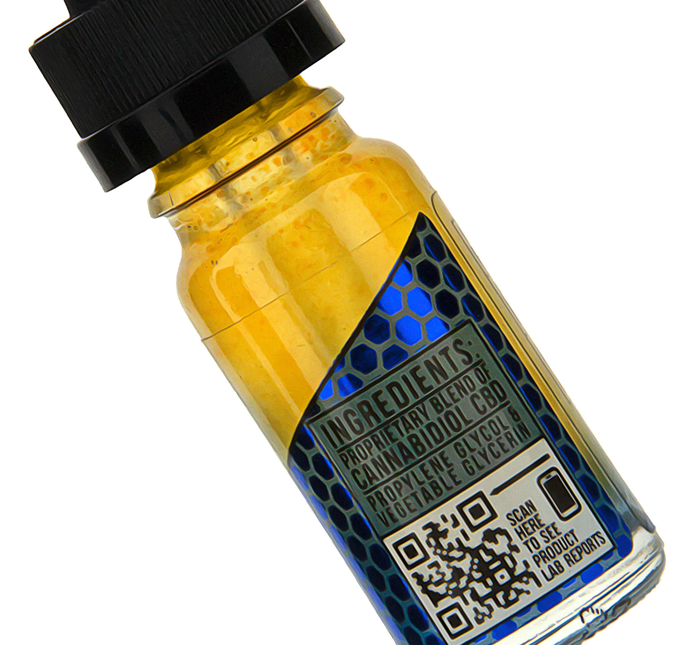 CBD Oil Vape Additive 120mg by CBDfx Ingredients Description