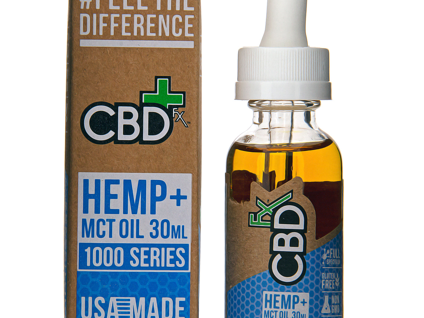 CBD Tincture Oil 1000mg by CBDfx Description One