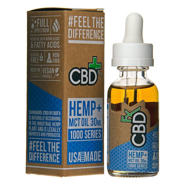 CBD Tincture Oil 1000mg by CBDfx