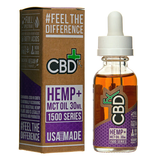 CBD Tincture Oil 1500mg by CBDfx