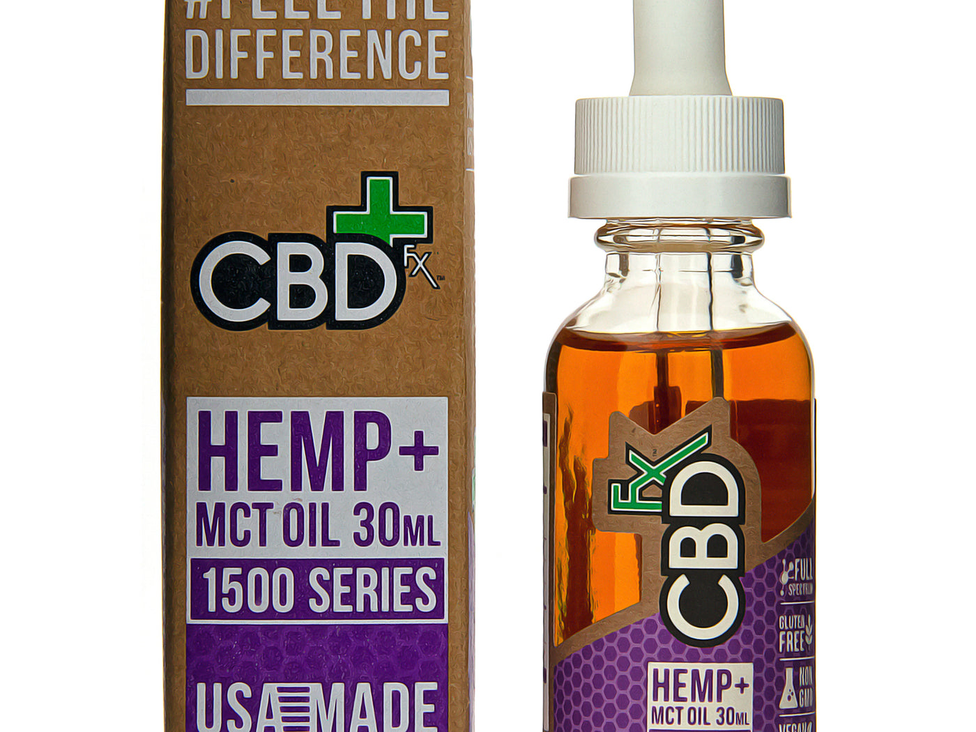 CBDfx CBD Tincture Oil 1500mg Description One