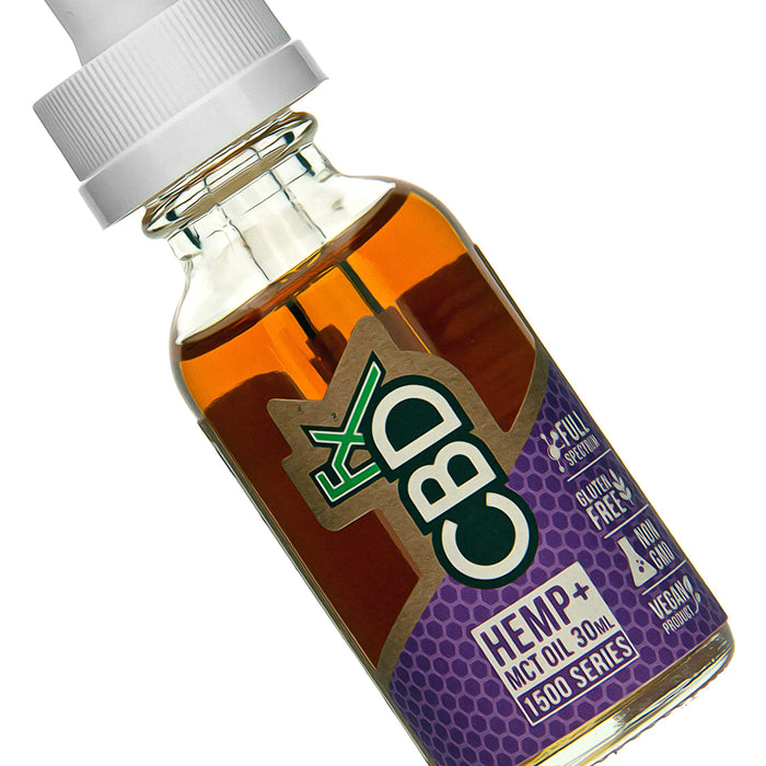 CBD Tincture Oil 1500mg by CBDfx Description Two