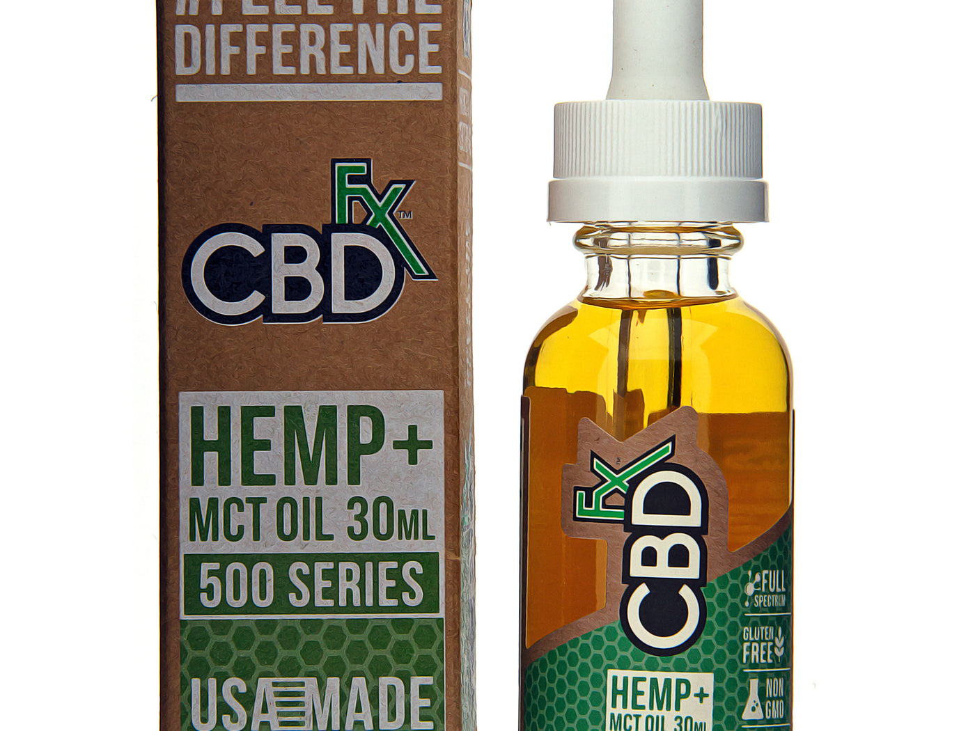 CBD Tincture Oil 500mg by CBDfx Description One