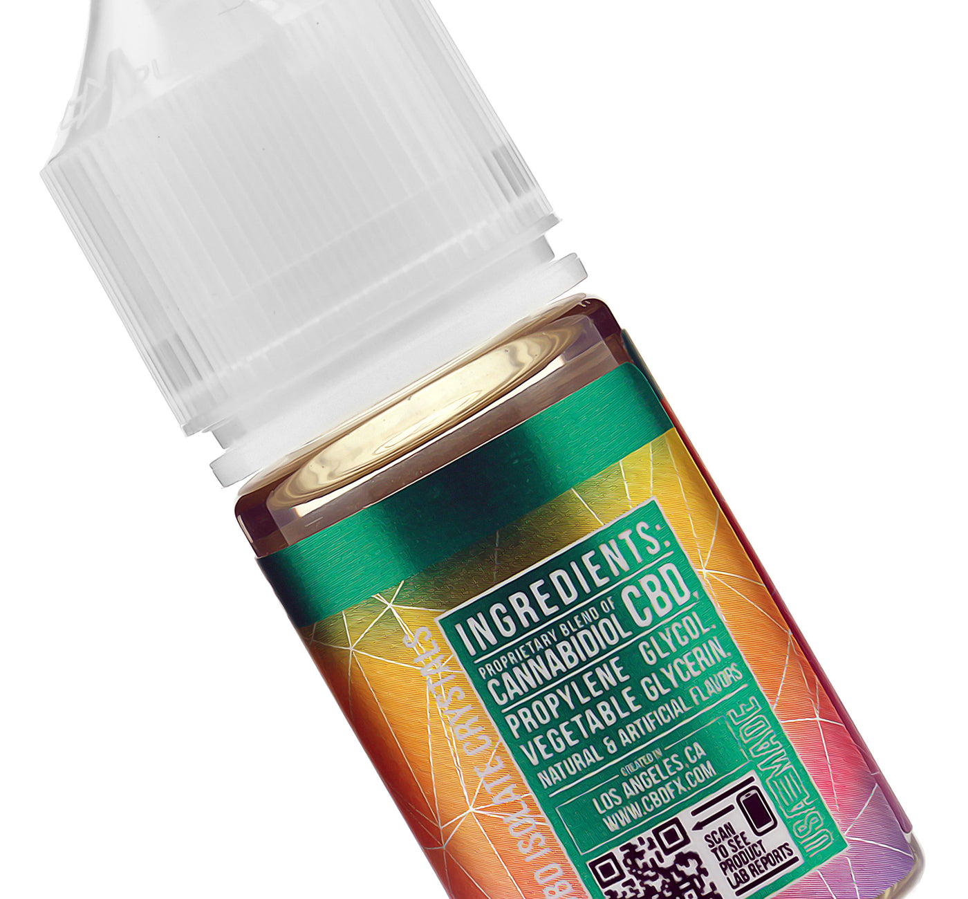 CBDfx Rainbow CBD Vape Juice Ingredients Description