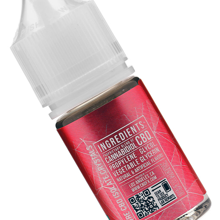 CBDfx Wild Watermelon CBD Vape Juice Ingredients Description