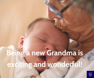 Top 9 tips for new and expecting grandparents