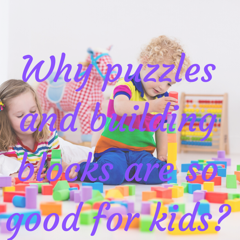 Why puzzles are so good for kids?