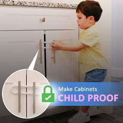 Baby-Proof-Knobs-Handles-Doors-U-Shape-Sliding-Safety-Latch-Lock-by-Jool-Baby