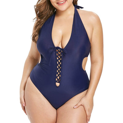 Plus Size Women Swimsuit