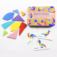 Creative Puzzle 4 Styles - Learning Educational Toys