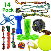 Dog Chew Toys -14 Pack