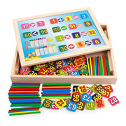 Learning Resources - Wooden Maths Learning Box