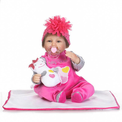 Silicone Doll Reborn Baby - 18 Inches / 42 cm