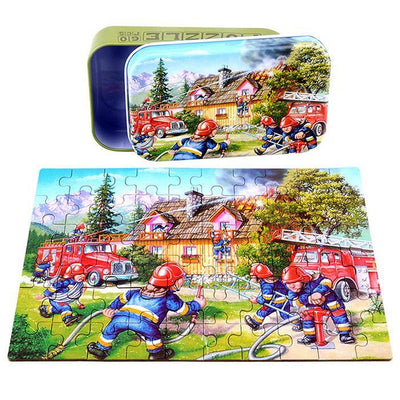 Fire engine puzzle