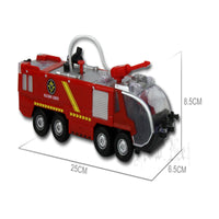 water fire engine size