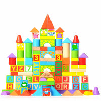 building blocks - different shapes