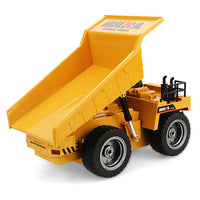 rc car loading sand truck