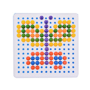 Pegboard mosaic puzzle - 240 pieces