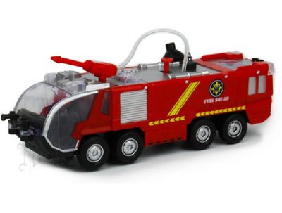 fire truck red