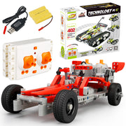DIY Kit R/C 10 in 1 Race Cars - 198 pcs