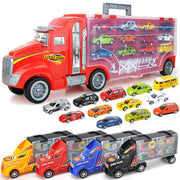 Truck carrying container - Transport Truck Carrier Toy