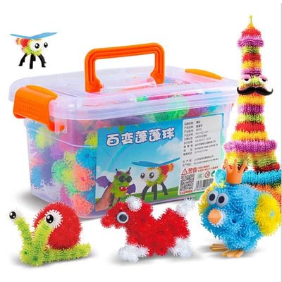 3D Puzzle DIY Puff Ball Creative - 400 pcs / 800 pcs