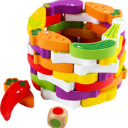 Education Vegetable Building Blocks