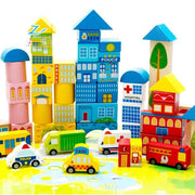 City Traffic Building Blocks - 160 pcs