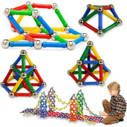 Magnetic building sticks - 103 pieces