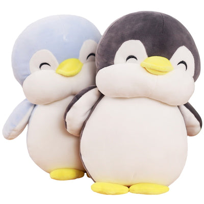 penguin black and blue
