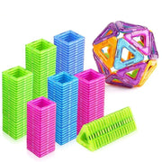 Mini magnetic blocks construction set