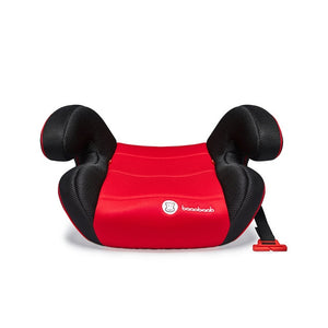 backless booster seat red