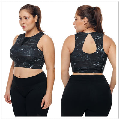 womens plus size activewear tank tops