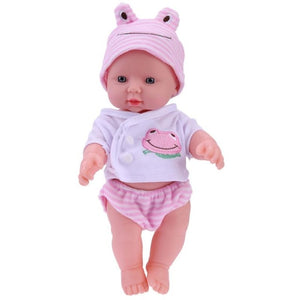 baby doll with pink hut